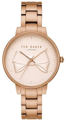 Ted Baker NR  Ladies Rose Gold Analogue Watch Te15197002