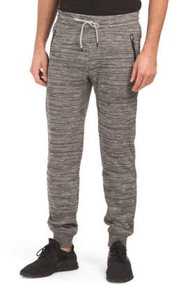 Slub Space Dye French Terry Joggers