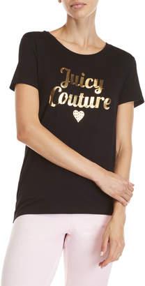 Juicy Couture Metallic Logo Tee
