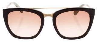 Calvin Klein Collection Square Tinted Sunglasses