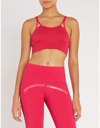 adidas by Stella McCartney Seamless stretch-jersey sports bra