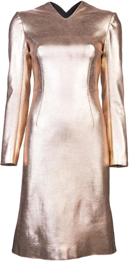 Cédric Charlier Metallic dress