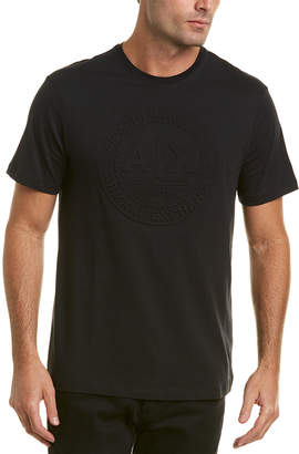 Armani Exchange Embossed Circle Logo T-Shirt
