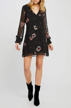 Gentle Fawn Black Floral Mini