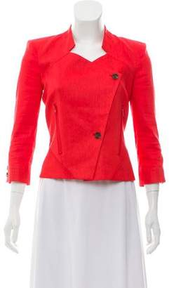 Helmut Lang Asymmetrical Button-Up Jacket