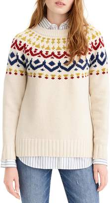 J.Crew Fair Isle Sweater