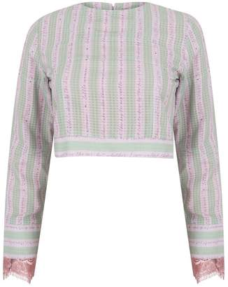 Olivia Annabelle Key To My Castle Blouse
