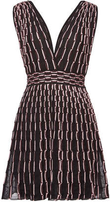 015825ba59af M Missoni Sleeveless Mini Dress with Metallic Thread