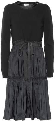 Moncler Technical midi dress