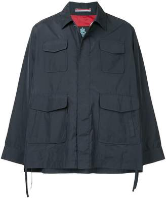 GUILD PRIME flared sleeve cropped jacket