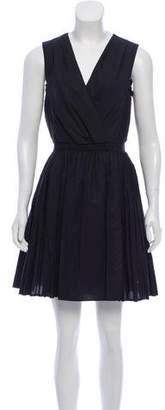 3.1 Phillip Lim Mini Pleated A-line Dress