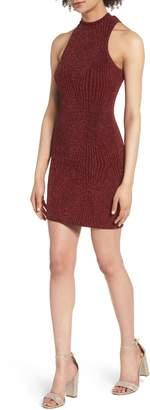 Speechless Glitter Body-Con Dress