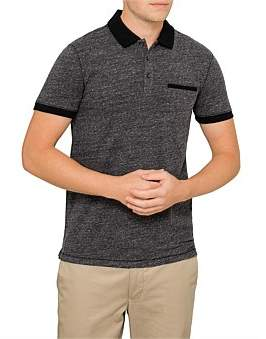 BOSS ORANGE Polo With Contast Collar And Sleeves