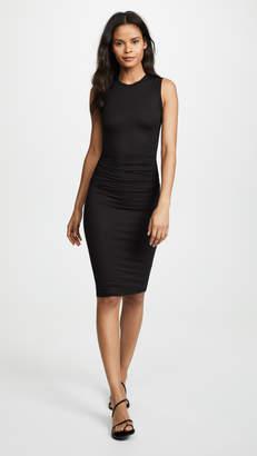 16a0c9f62a2 Enza Costa Side Ruched Midi Dress