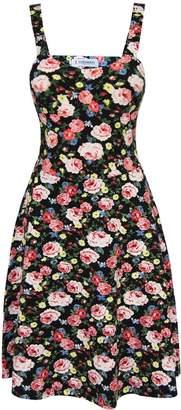 Toms Tom's Ware Womens Stylish Floral Print Adjustable Strap Skater Dress TWCWD111-S-CA