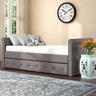 Darby Home Co Roselawn Twin Daybed with Trundle Darby Home Co