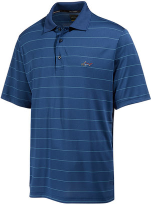Greg Norman for Tasso Elba Men's Big & Tall 5-Iron Classic Striped Performance Polo, Only at Macy's $55 thestylecure.com