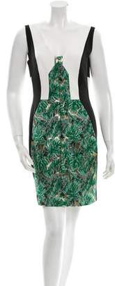 J. Mendel Metallic Dress w/ Tags