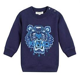 Kenzo Navy Tiger Sweatshirt Perm (6-12 Years)