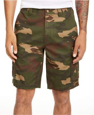 Club Room Men Regular-Fit Camouflage Cargo Shorts