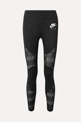 Nike Air Perforated Dri-fit Leggings - Black