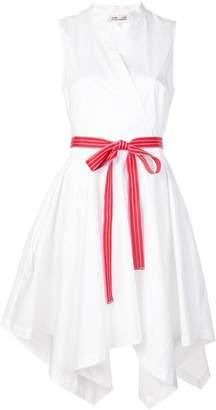 Diane von Furstenberg belted wrap dress