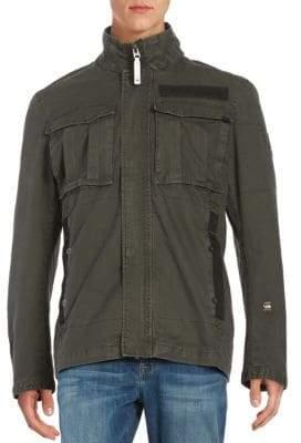 G Star Cotton Utility Jacket