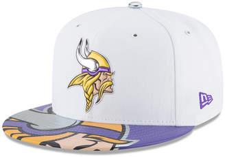 New Era Minnesota Vikings 2017 Draft 59FIFTY Cap