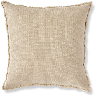 Napa Home & Garden And Garden Woven Fringed 26In Square Euro Pillow
