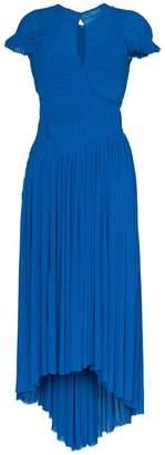 Preen by Thornton Bregazzi milly pleat maxi dress
