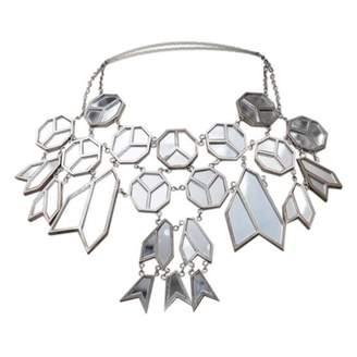 Nina Ricci Vintage Silver Metal Necklace