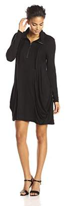 Kensie Women's Drapey French Terry Dress $99 thestylecure.com