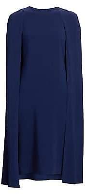 2dc6bf77f397 Stella McCartney Women s Stretch Cady Cape Back Dress