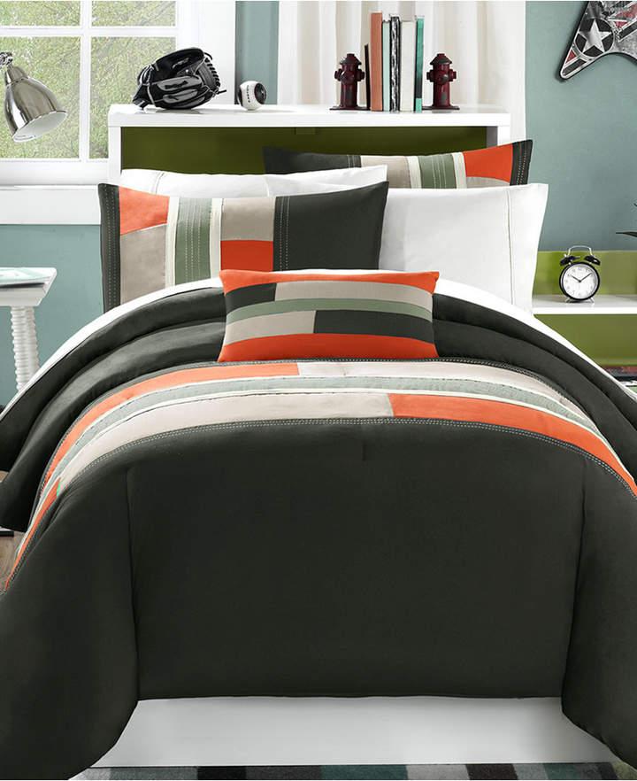 Mi Zone Pipeline 4-Pc. Reversible Full/Queen Comforter Set Bedding