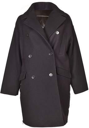 MSGM Double Breasted Oversized Coat