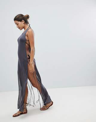 Co And Sheer Beach Dress
