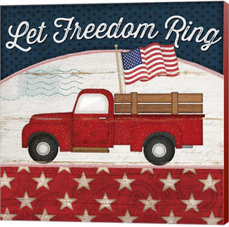 Let Freedom Ring By Jennifer Pugh Canvas Art