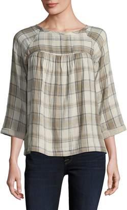 Current/Elliott Current Elliott Women's The Shirred Raglan Shirt