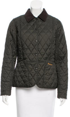 Barbour Quilted Lightweight Jacket $125 thestylecure.com