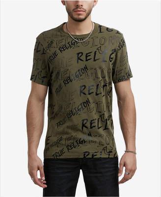 True Religion Men's Logo Mania T-Shirt