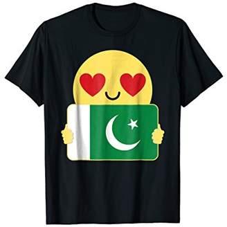 Pakistan Shirt Heart Eye T-Shirt Tee