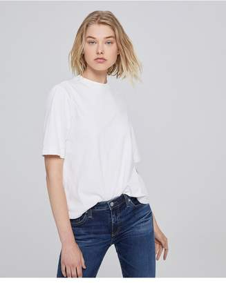 AG Jeans The Yoni Tee - Vintage White