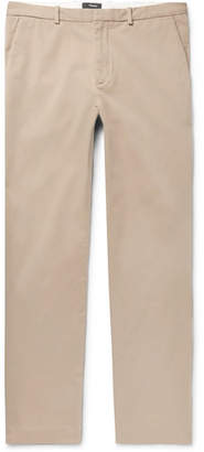 Theory Caz Stretch-Cotton Twill Trousers