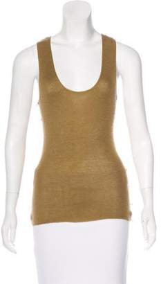 Louis Vuitton Sleeveless Cashmere Top