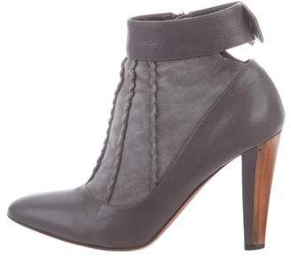 Jean-Michel Cazabat Leather Pointed-Toe Boots
