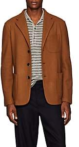 Barena Venezia Men's Knit Wool-Blend Three-Button Sportcoat - Beige, Tan