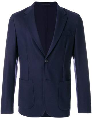 Z Zegna slim-fit blazer