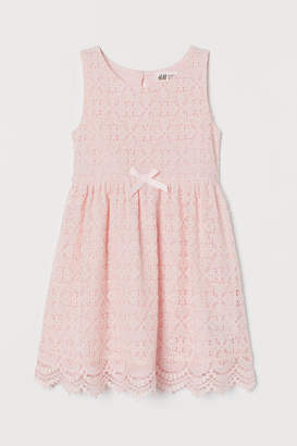 H&M Lace Dress - Pink