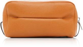 Valextra Medium Classic Soft Leather Beauty Case