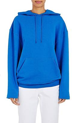 Balenciaga Women's French Terry Oversized Hoodie $565 thestylecure.com